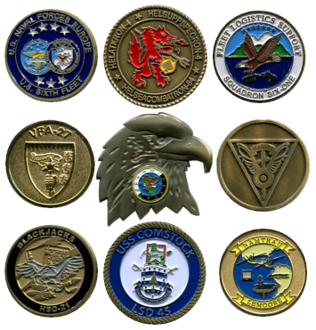 Custom Challenge Coins by Plane Crazy Enterprises