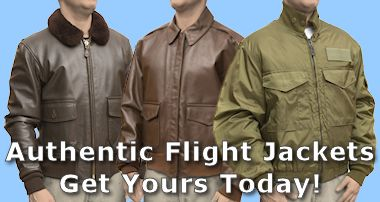 Authentic Military Flight Jackets